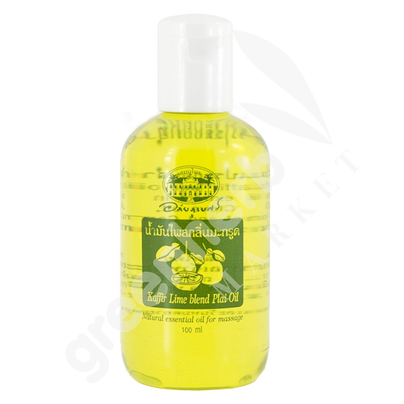 Plai Oil (Kaffir Lime Blend) - Abhaiherb
