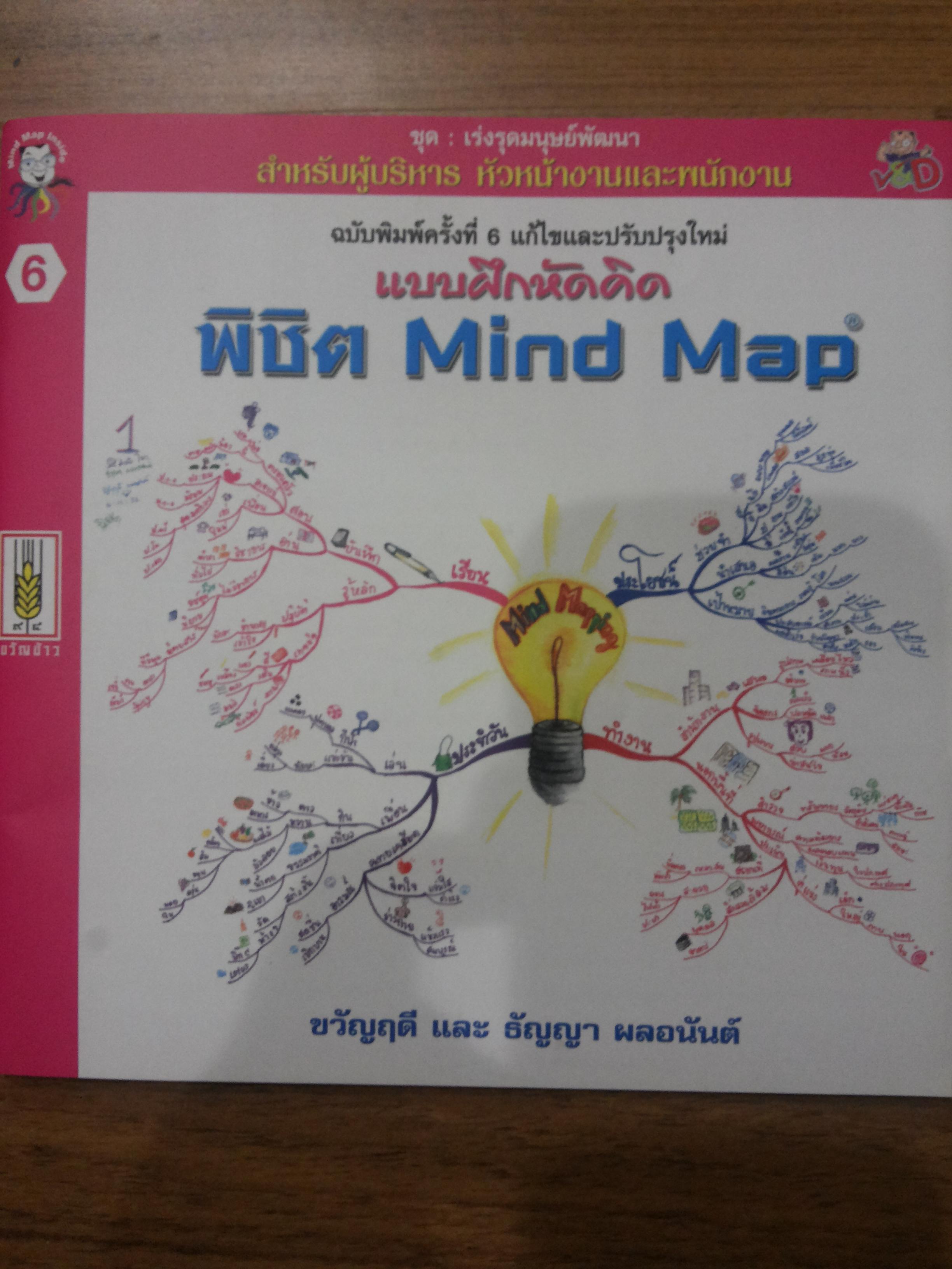 แบบฝึกหัดคิด พิชิต Mind Map