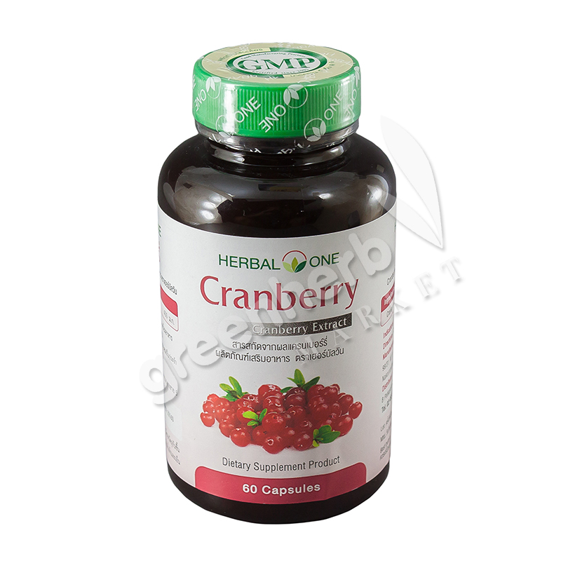 Cranberry extract dietary supplement product