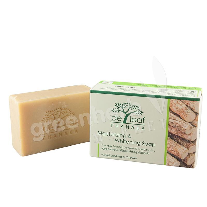 De Leaf Thanaka Moisturizing & whitening soap