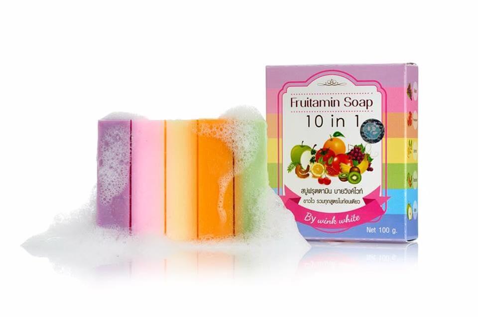 Fruitamin Soap สบู่ฟรุตตามิน สบู่วิงค์ไวท์