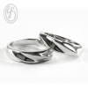แหวนคู่รัก เงินเกลี้ยง เงินแท้ 92.5% ขัดเงา หนาแหวนเป็นเกลียว สวยมากค่ะ เหมาะเป็นของขวัญในวันพิเศษ