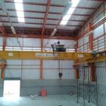 เครนเหนือศีรษะคานคู่ overhead crane double gerder หน่วยงาน อ.กระทุ่มแบน จ.สมุทรสาคร