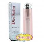 Christian Dior : Dior Addict Lip Glow # 006 (3.5 g.) Berry สีม่วงเข้มเจือชมพู Limited Edition สีลิปบาล์มจะเปลี่ยนไปตามอุณหภูมิของริมฝีปาก มอบความชุ่มชื่น เติมให้ริมฝีปากดูอวบอิ่ม พร้อมการบำรุงของ Moisturiser และ Vitamin ให้คงความชุ่มชื่น ไม่แห้งกร้าน แตกเ