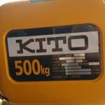 รอกโซ่ Kito ขนาด 500 กก.