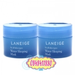 Laneige : Water Sleeping Mask (30 ml.) เจลใสมาส์กหน้าสำหรับทุกสภาพผิว แบบไม่ต้องล้างออก เนื้อเจลเย็น ๆ บางเบา ซึมซาบเร็ว พร้อมกลิ่นหอมอ่อน ๆ ให้ผิวได้ผ่อนคลาย เข้าเติมน้ำให้ผิวขณะนอนหลับ ตื่นรับผิวเด้ง อิ่มน้ำ สัมผัสได้ถึงความนุ่ม ชุ่มชื่น กระจ่างใส