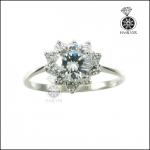 แหวนเงินแท้ แหวนเพชรCZ น่ารักๆ ใส่ทุกโอกาส