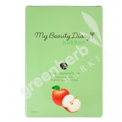 มายบิวตี้ ไดอารี่ แอปเปิ้ลโพลีฟีนนอล มาส์ค (แบบกล่อง)