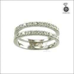 แหวนเงินแท้ แถว 2 วง สวยเก๋มีสไตล์ใส่ติดนิ้วได้ทุกโอกาส