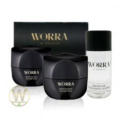 ครีมนุ่น ครีม worra by worranuch 2 กระปุก รับฟรี คลีนซิ่งวอร่า 1 ขวด