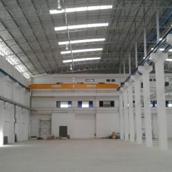 เครนเหนือศีรษะ ขนาด 3ตัน 2 ทาง overhead crane 3 tons 2 lines หน่วยงาน อ.เมือง จ.สมุทรสาคร