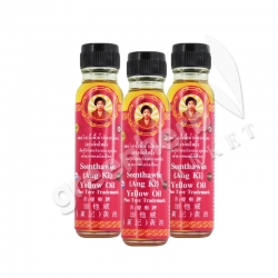 3x Yellow Oil Somthawin (Ang Ki) 24 cc. - Bodhi Tree Brand