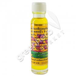 ไพลสกัดน้ำมันเหลืองสมุนไพรไทย – จีน ตราดอกบัว 9 ดอก