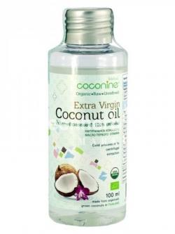 น้ำมันมะพร้าวธรรมชาติ 100% (สกัดเย็น) 100 มล. โคโค่ไนน์