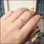 แหวนเพชรCZ เล็กๆ น่ารักๆ ใส่ติดนิ้ว thumbnail 5