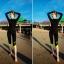[พร้อมส่ง]BKN-180 ชุดว่ายน้ำแขนยาว กางเกงขายาวสามส่วน สีดำขอบสีเขียวส้ะท้อนแสง เซ็ต 4 ชิ้น (บรา+บิกินี่+เสื้อแขนยาวซิปหน้า+กางเกงสามส่วน) thumbnail 5