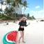 ชุดว่ายน้ำแขนยาว เสื้อเอวลอย+กางเกงขาสั้น thumbnail 4