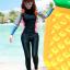 [พร้อมส่ง]BKN-022 ชุดว่ายน้ำแขนยาวขายาว หลากสีสันสวยๆ thumbnail 1
