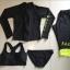 [พร้อมส่ง]BKN-180 ชุดว่ายน้ำแขนยาว กางเกงขายาวสามส่วน สีดำขอบสีเขียวส้ะท้อนแสง เซ็ต 4 ชิ้น (บรา+บิกินี่+เสื้อแขนยาวซิปหน้า+กางเกงสามส่วน) thumbnail 8