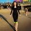 [พร้อมส่ง]BKN-180 ชุดว่ายน้ำแขนยาว กางเกงขายาวสามส่วน สีดำขอบสีเขียวส้ะท้อนแสง เซ็ต 4 ชิ้น (บรา+บิกินี่+เสื้อแขนยาวซิปหน้า+กางเกงสามส่วน) thumbnail 7