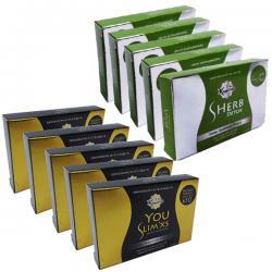 อาหารเสริมลดน้ำหนัก (ยาลดความอ้วน) เซ็ตยูสลิม ดีท็อก 12 กล่อง