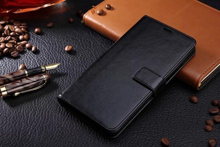 Nubia Z9 Max เคสฝาพับกระเป๋าหนังกันกระเเทก (สีดำ)